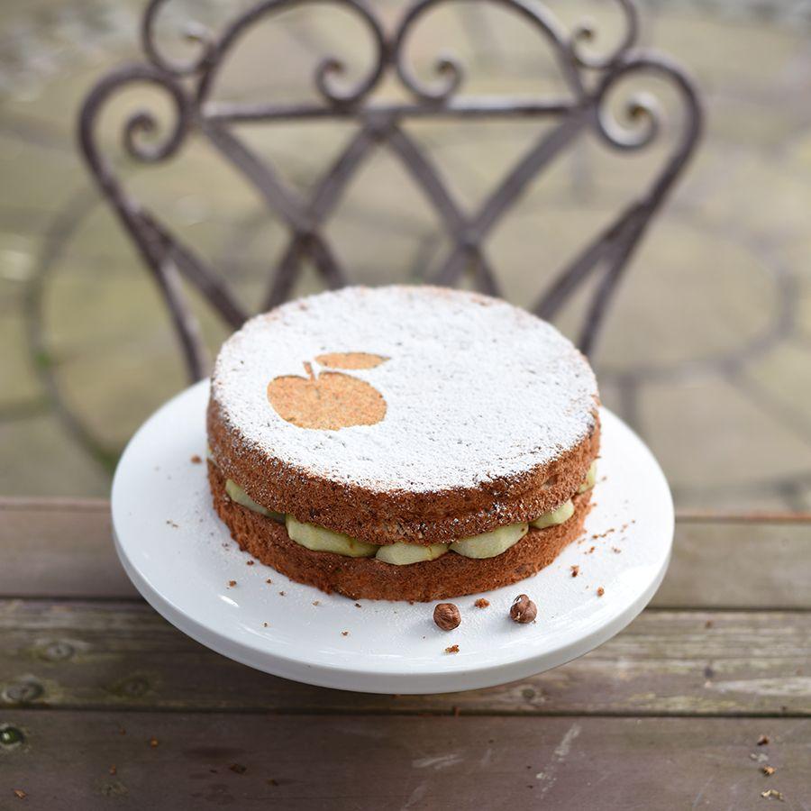 Французский яблочный торт   Yellow Chimney