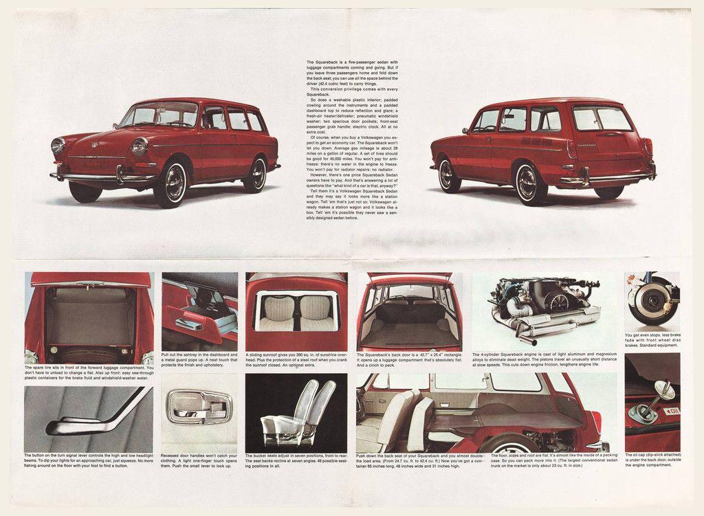 1965 Volkswagen Type 3 Squareback Brochure I OldBrochures