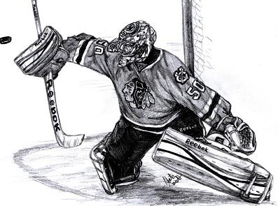 Corey Crawford Blackhawks Chicago Blackhawks Goalie