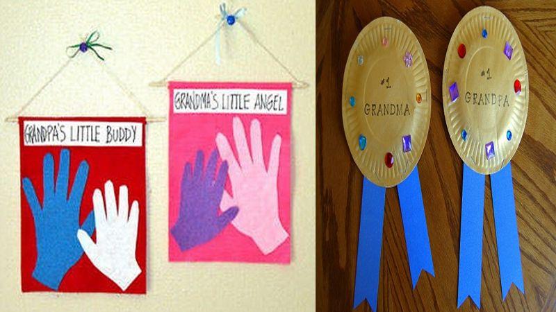9 Easy & Best Grandparents Day Crafts And Ideas For Kids And Preschoolers #grandparentsdaycraftsforpreschoolers