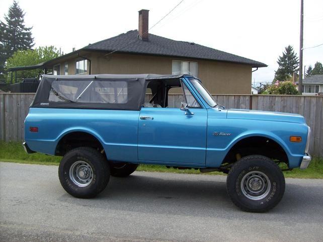 Oh Yeah 71 Blazer Softopper Soft Top Chevy Trucks Gmc Truck Trucks