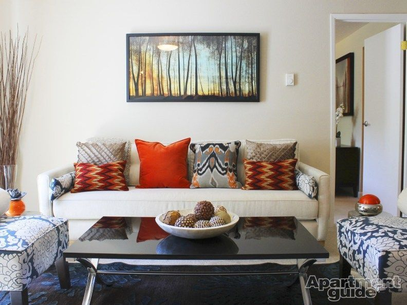 Update your #living #room #decor with a few colorful pillows. | Wyndham Park Apartments in #Beaverton,#apartments #beaverton #colorful #decor #living #park #pillows #room #update #wyndham