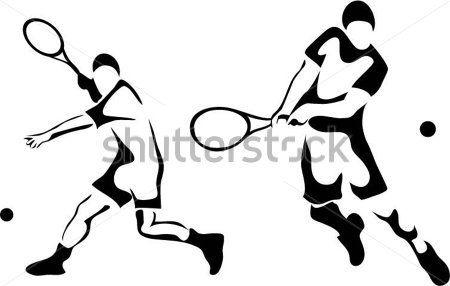 stylized-men-playing-tennis.jpg (450×286)