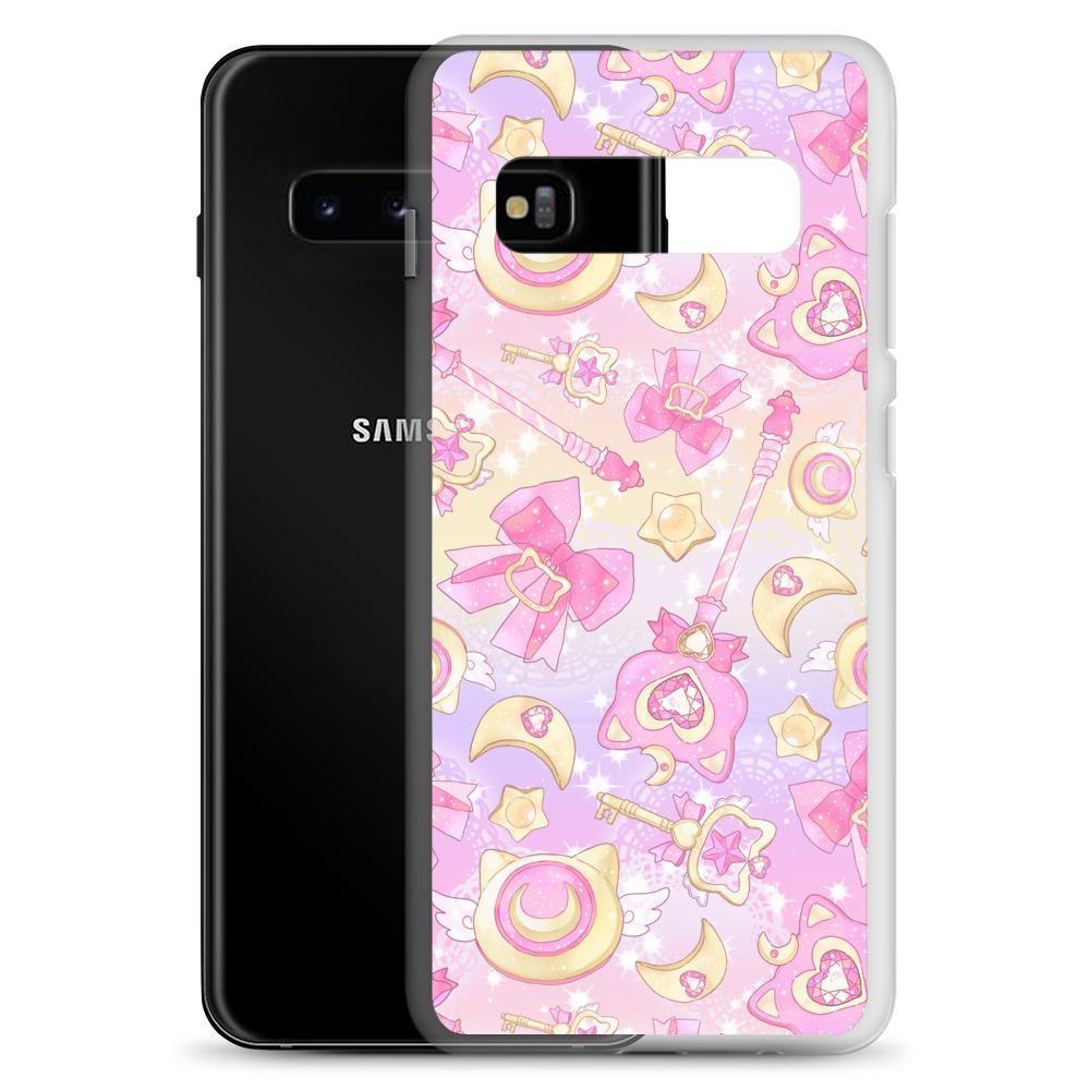 Magical Girl Samsung Case (Pink) - Samsung Galaxy S10+