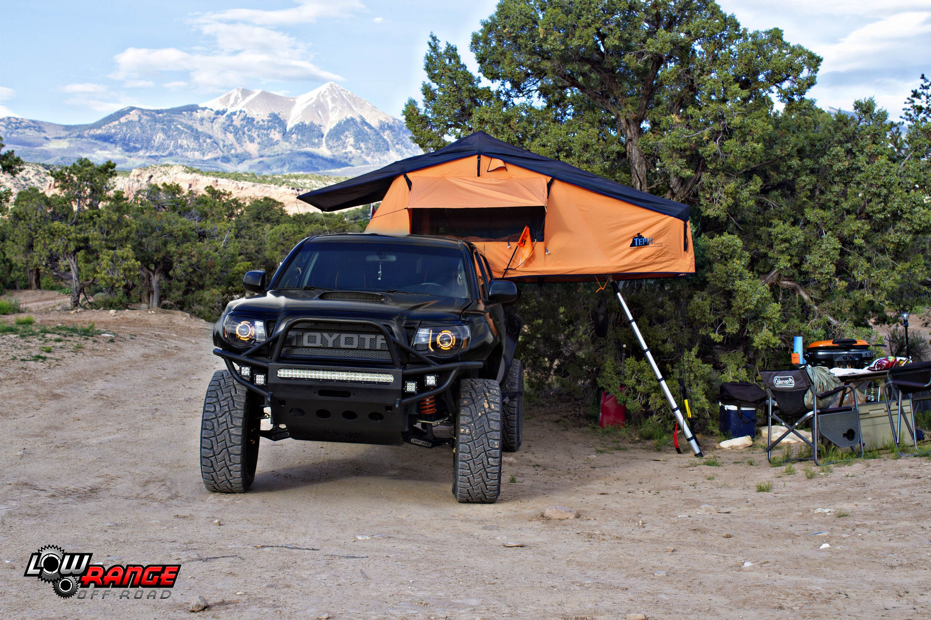 Toyota Tacoma Rooftop Tent Adventure Rig Toyota Tacoma Rooftoptent Adventurerig Expeditionrig Lowrangeoffroad Roof Top Tent Toyota Tacoma Toyota 4x4
