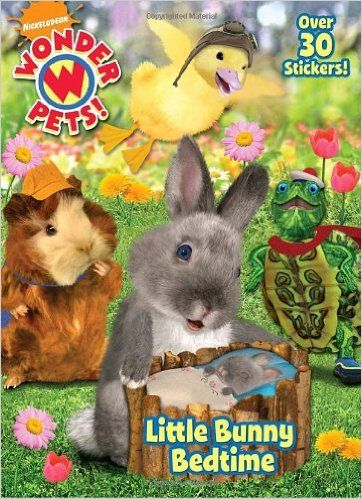 Little Bunny Bedtime Wonder Pets Super Color With Stickers