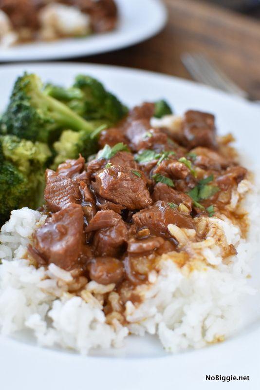Easy Crock Pot Beef Tips images