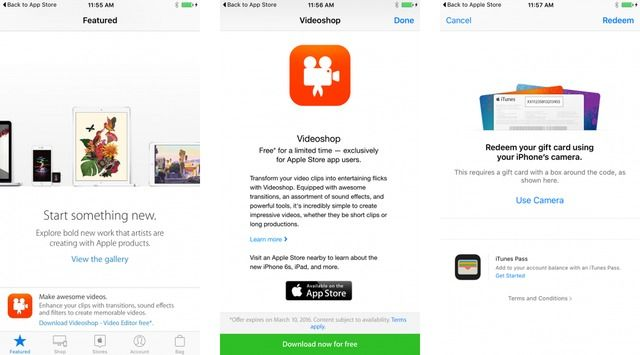 Apple Offers Videoshop as a Free Download via the Apple Store App - free spreadsheet software for macbook pro