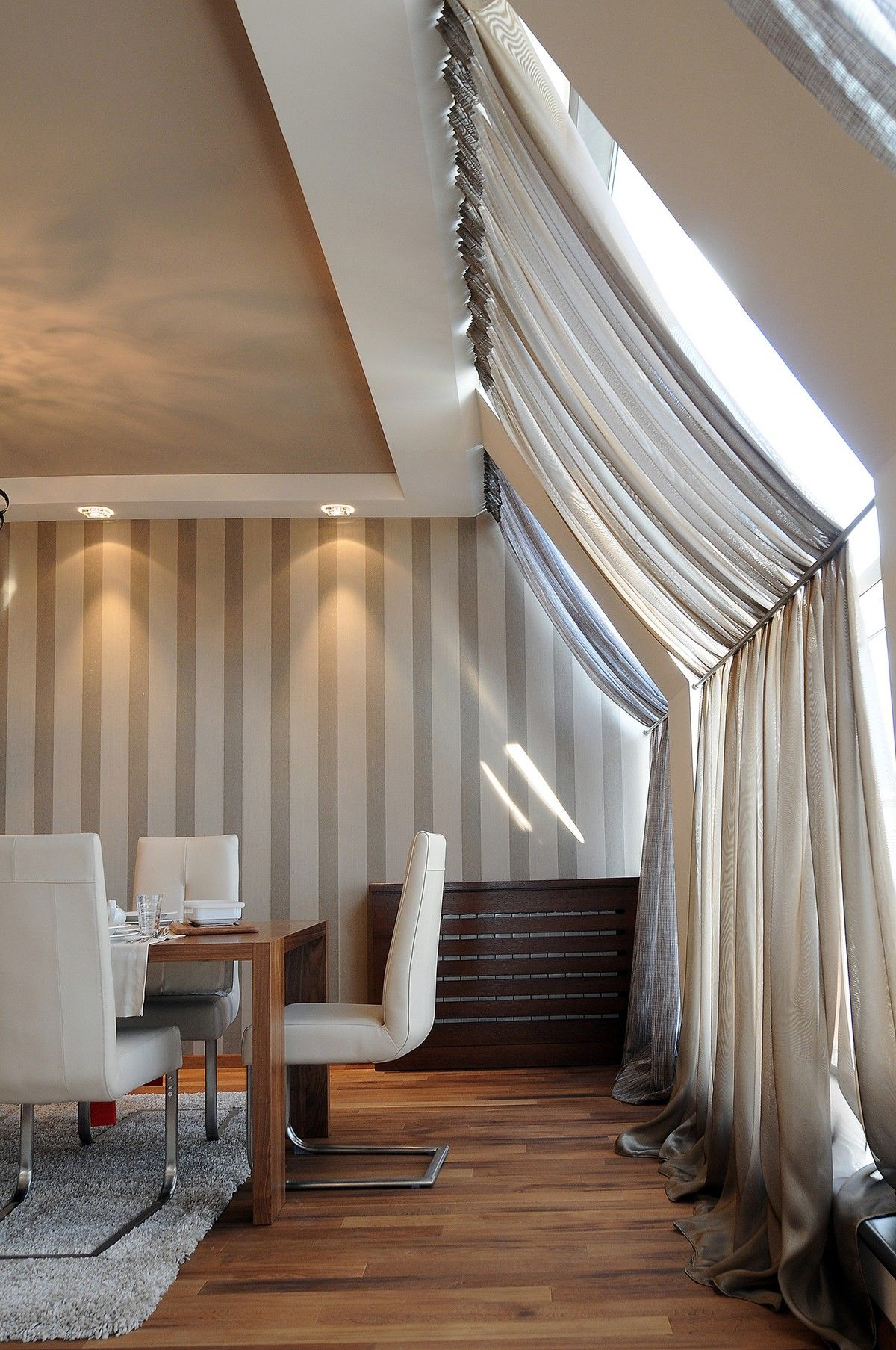 The Importance Of Texture In Interior Design Modern Window Design Attic Rooms Curtains