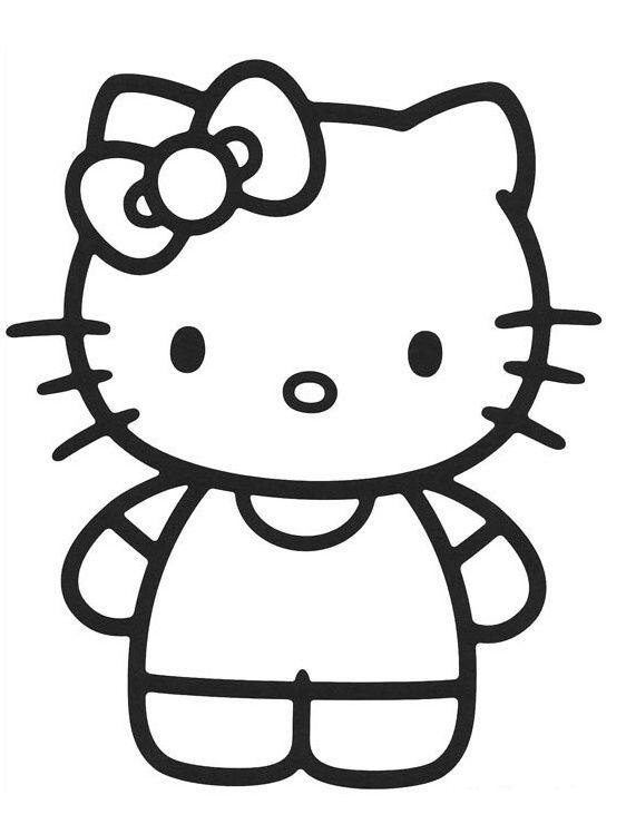 Hello Kitty Hello Kitty Kocicka Omalovanky
