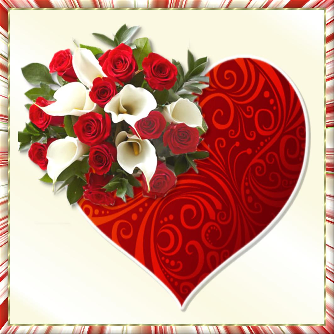 Gifs Hermosos Corazon Encontrados En La Web Dibujos De Corazones Corazones Imagenes De Flores
