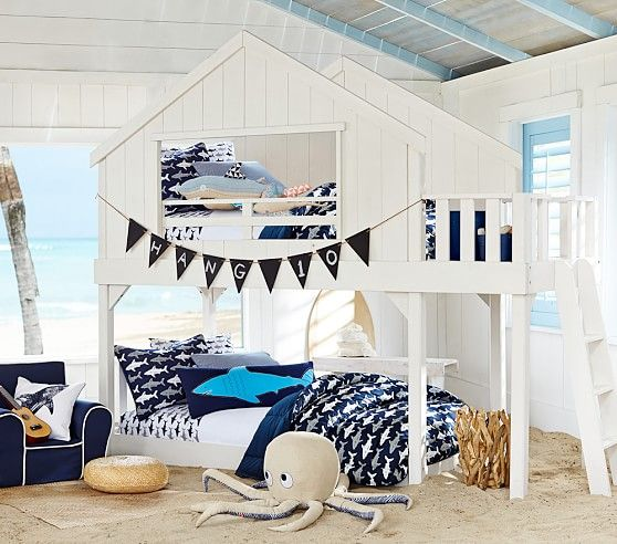 tree house bunk | pottery barn kids if there was room, i'd buy