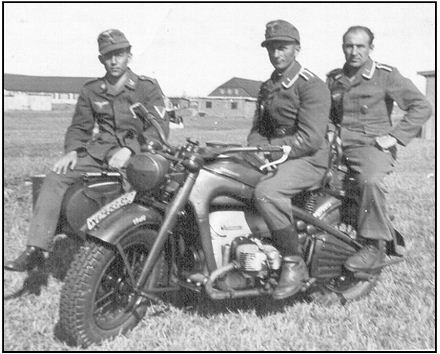 Image result for German Army Zundapp KS 750 motorcycle