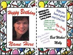 Personalized Giant Birthday Card Banner By Bannergrams