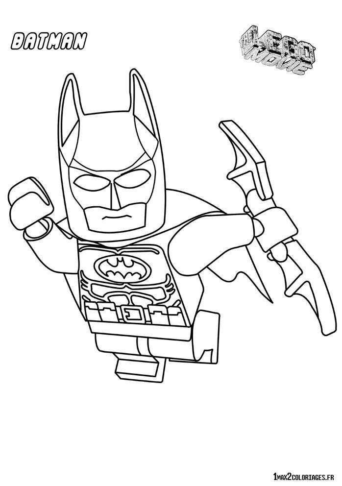 Batman Lego In The Airs Movie Coloring Pages Printable And Book To Print For Free Find More Online Kids Adults Of