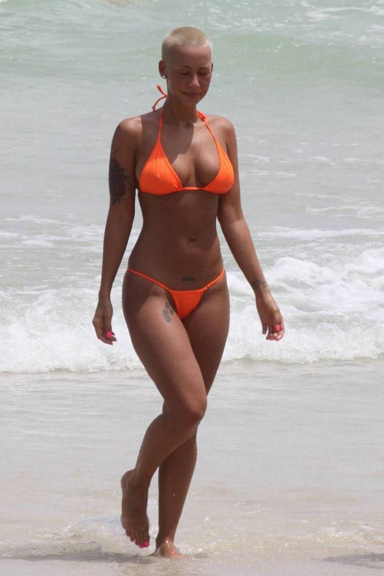 Look at topless amber rose - 2019 year