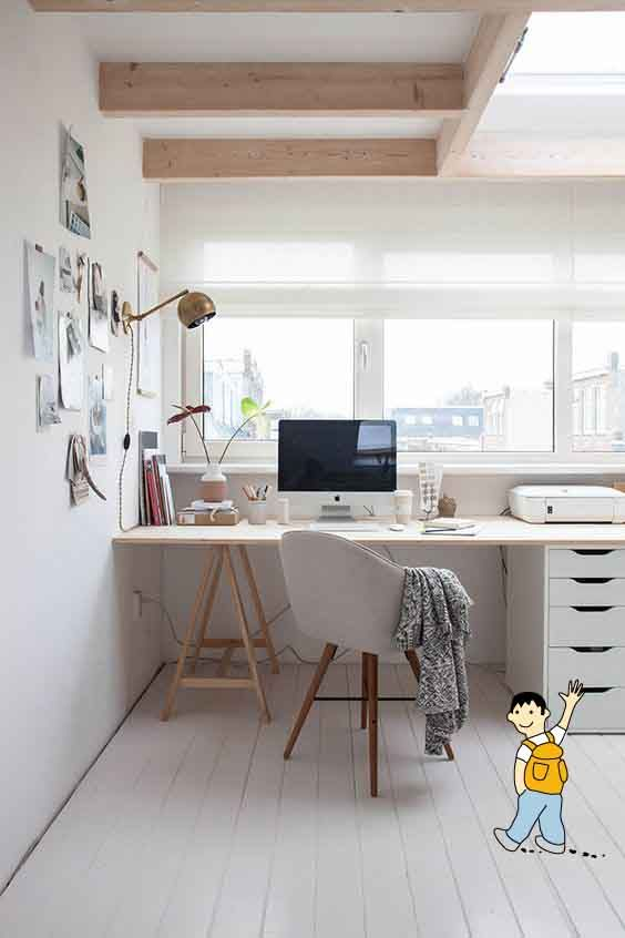 Decoraci n despacho para maestros ideas para decorar un - Decorar despacho pequeno ...