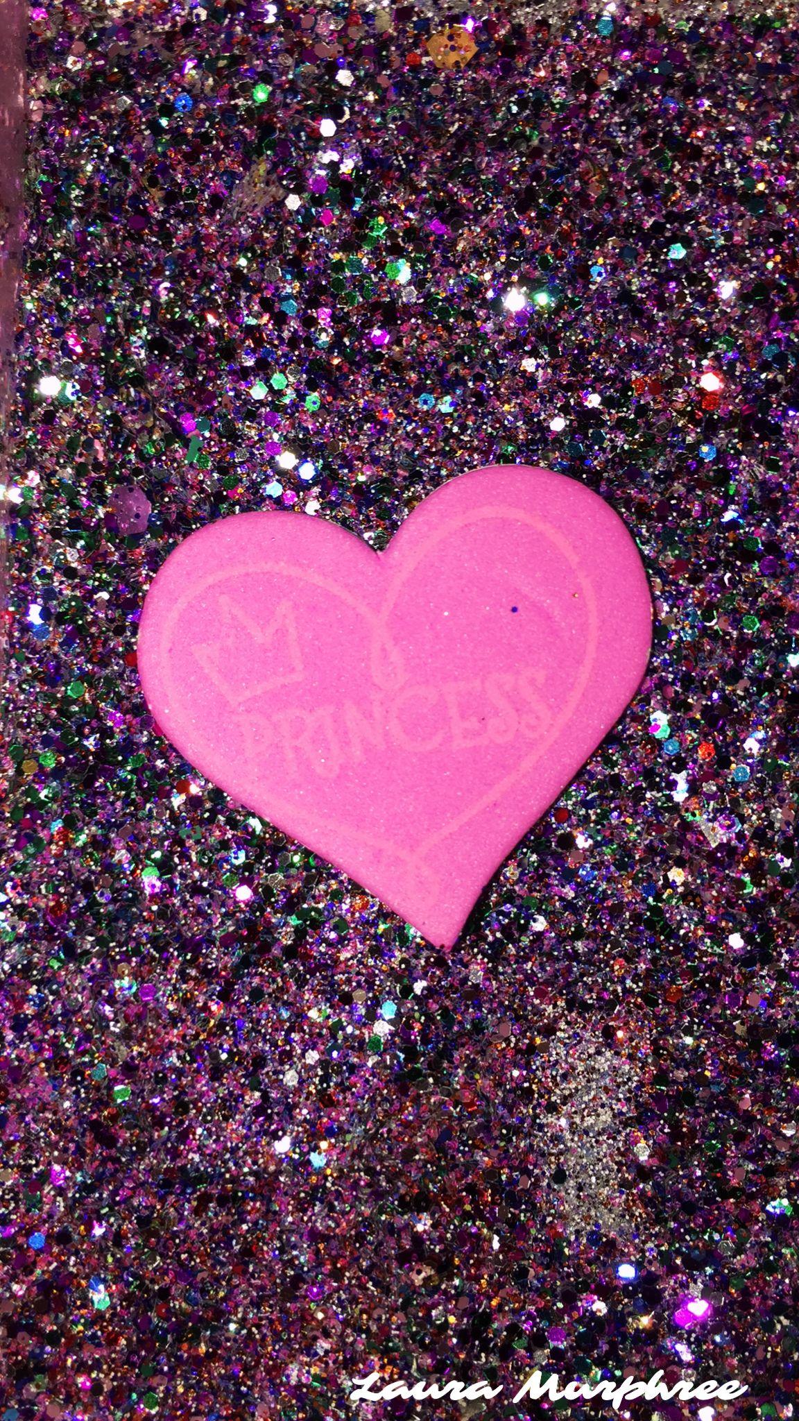 Glitter Phone Wallpaper Sparkle Background Bling Shimmer Sparkles Glittery Pretty Girly Heart Col Glitter Phone Wallpaper Glitter Wallpaper Sparkles Background