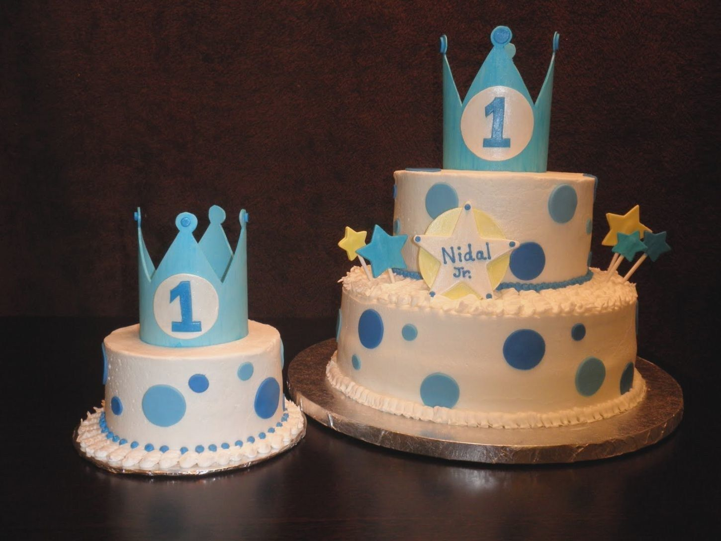 27 Excellent Image Of Baby Boy First Birthday Cake Boys 1st