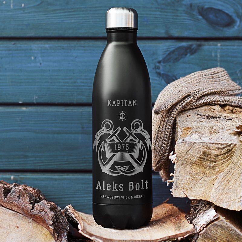 Termos Dla Podroznika Crezyshop Pl Termos Termosdlapodroznika Termosdlakapitana Prezentdlapodroznika Prezentd Coffee Bottle Starbucks Iced Coffee Bottle Bottle
