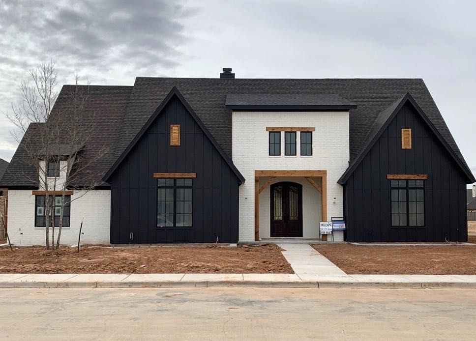 Exterior paint is finally complete a few trees and - Exterior painting in cold weather ...