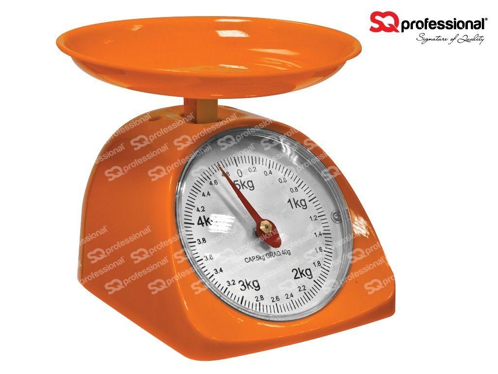 Amazing Small Retro Kitchen Scales   ORANGE #kitchen #scales #orange #weight  #sqprofessional