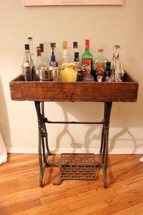 Las mesas de las máquinas de coser han cambiado de función ¡Ahora - Ideas Con Mucho Estilo