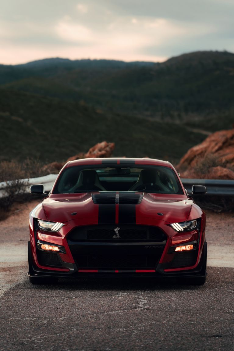 2020 Ford Mustang Shelby GT500 via reddit Ford mustang