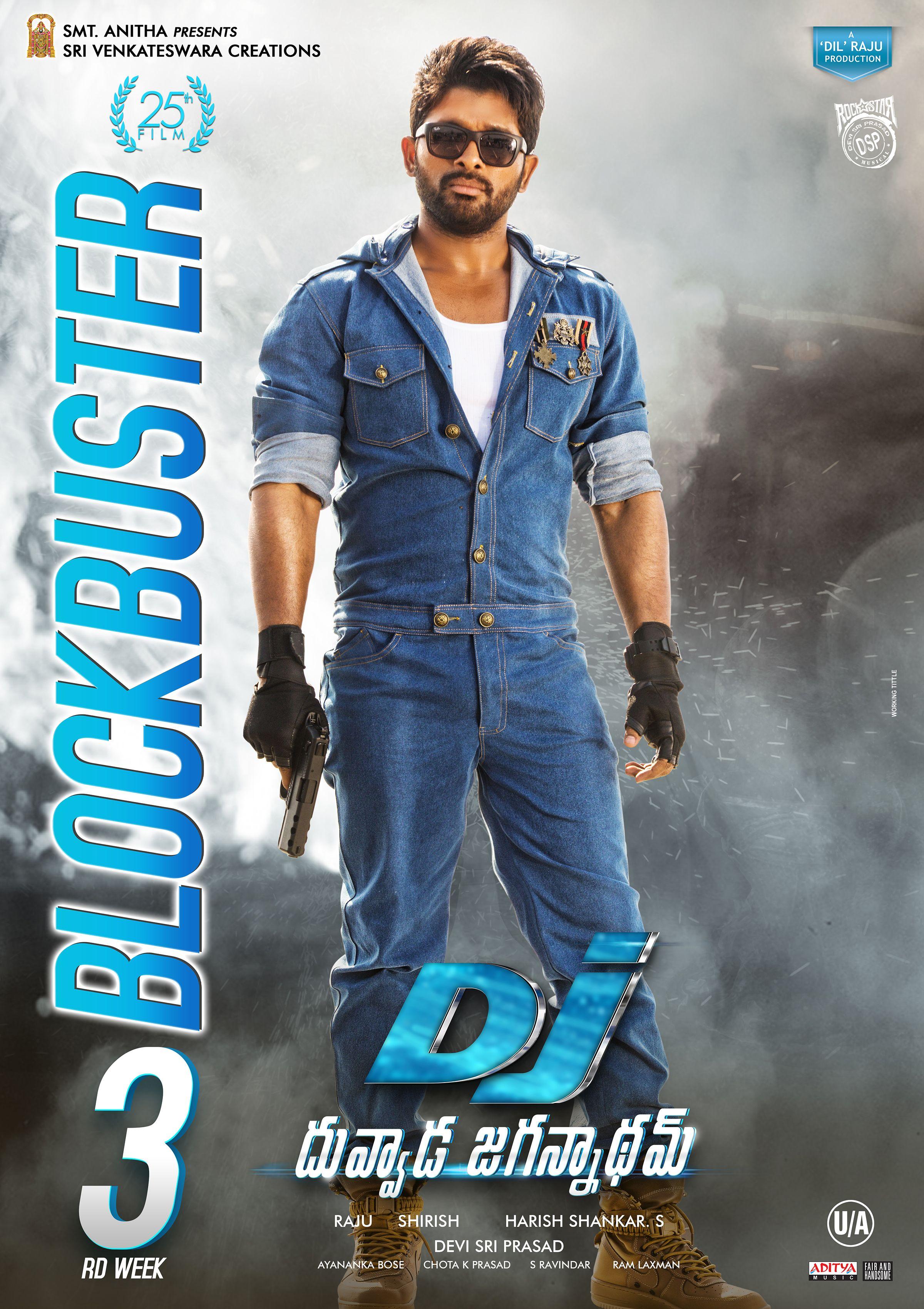 Allu Arjun Hindi Dubbed South Indian Movie Watch Now Dj