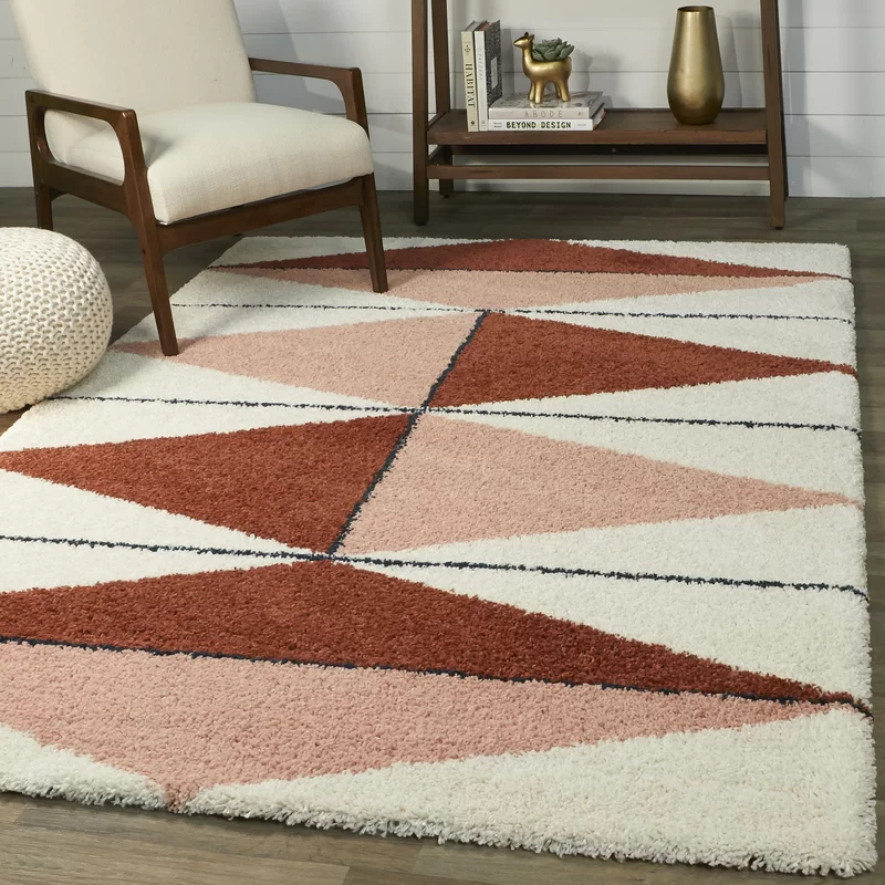 Wauseon Power Loom Brown Beige Rug Allmodern In 2020 Shag Area Rug Area Rugs Area Rugs For Sale