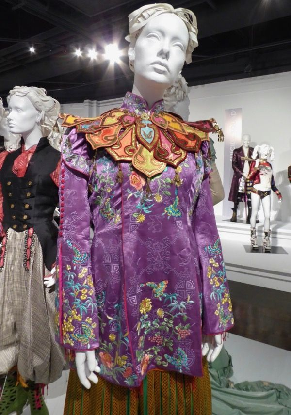 Alice Through The Looking Glass Film Costumes On Display At L A S