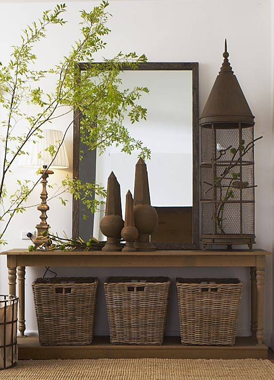 Love The Birdcage And Baskets