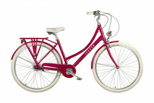 Jordan Lekker 789 Candy Red With Images Dutch Bike Retro