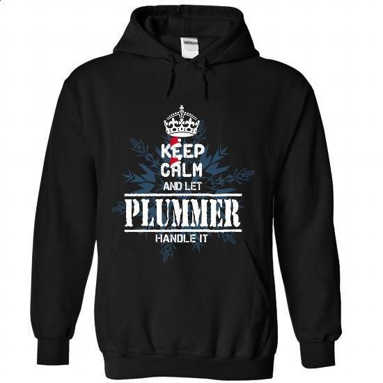 5 PLUMMER Keep Calm - #shirt outfit #sweater for women. GET YOURS => https://www.sunfrog.com/States/5-PLUMMER-Keep-Calm-6754-Black-Hoodie.html?68278