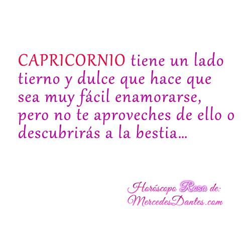 horoscopo del amor capricornio rosa capricorns pinterest