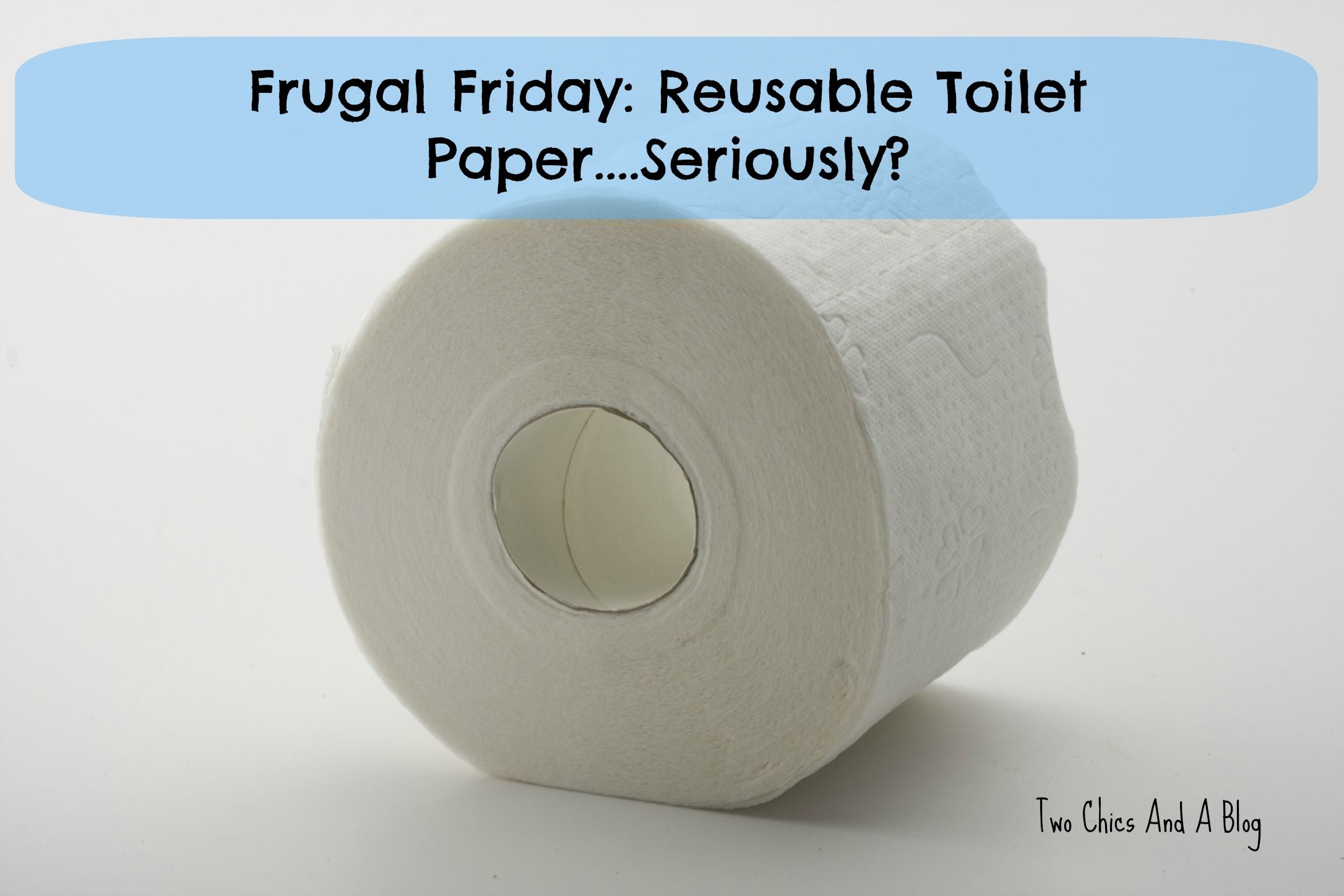 Reusable toilet paper. It sounds gross, I know, but with some ...