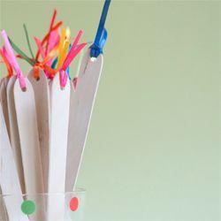 DIY Wooden Spoon Flags