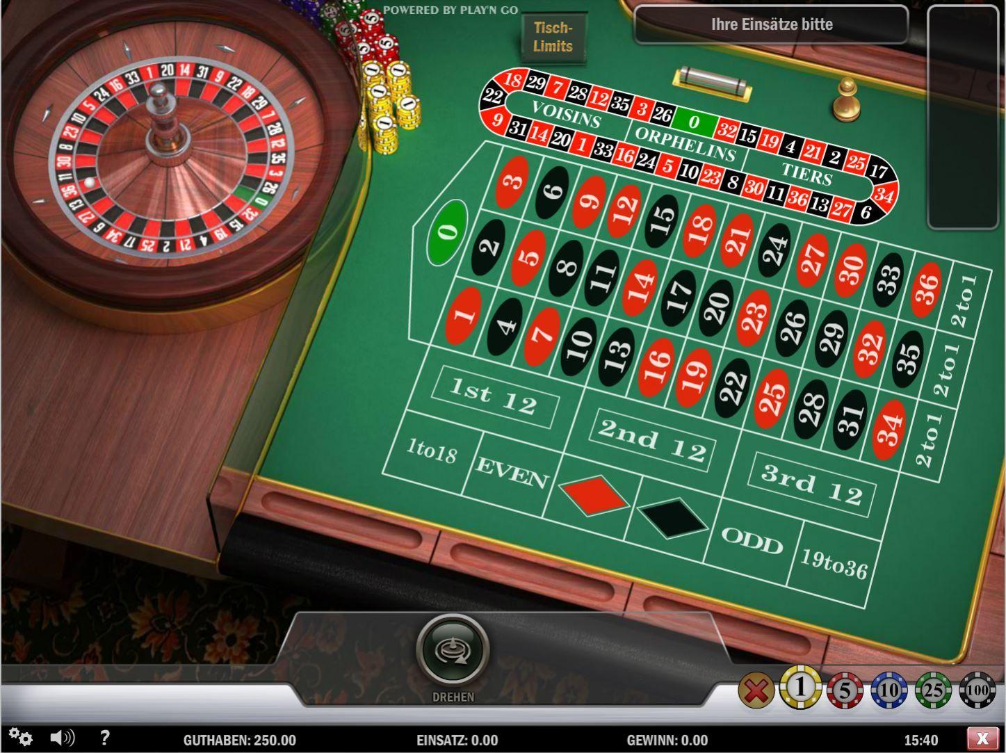 Spielgeld Roulette Kostenlos