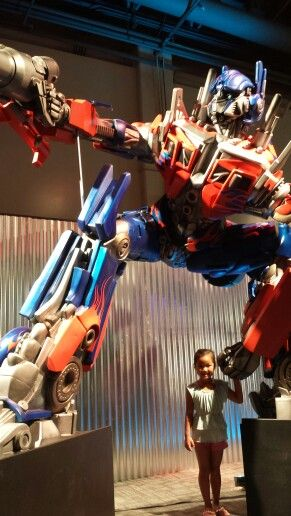 Take my hand, little girl.  You're safe with Optimus Prime.
