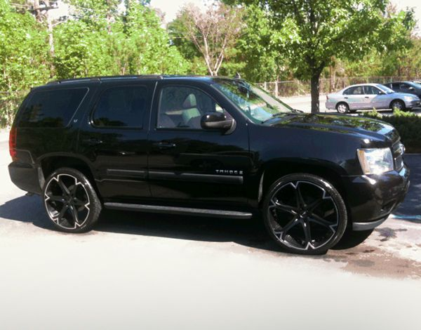 Giovanna Dalar 6v Black With Machined Stripe Wheels On Chevy