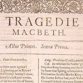 an analysis of act 1 of the tragic play macbeth by william shakespeare Home » essay topics and quotations » macbeth thesis statements and important quotes  macbeth by william shakespeare  play once macbeth has committed an act.