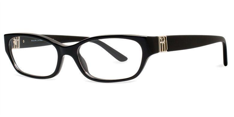 ❤️RALPH LAUREN Frames Plastic Black Eyeglasses Women\'s RL6081 5001 ...