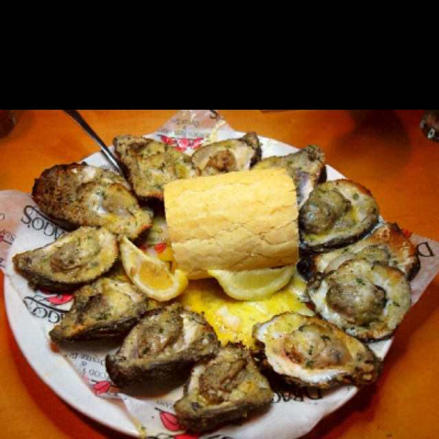 Charbroiled oysters. Drago's in NO has the best I've ever had! Soooo good!!!
