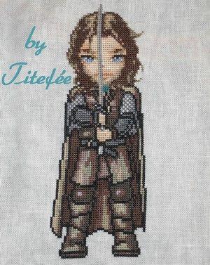 Aragorn, fils d'Arathorn et de Gilraen