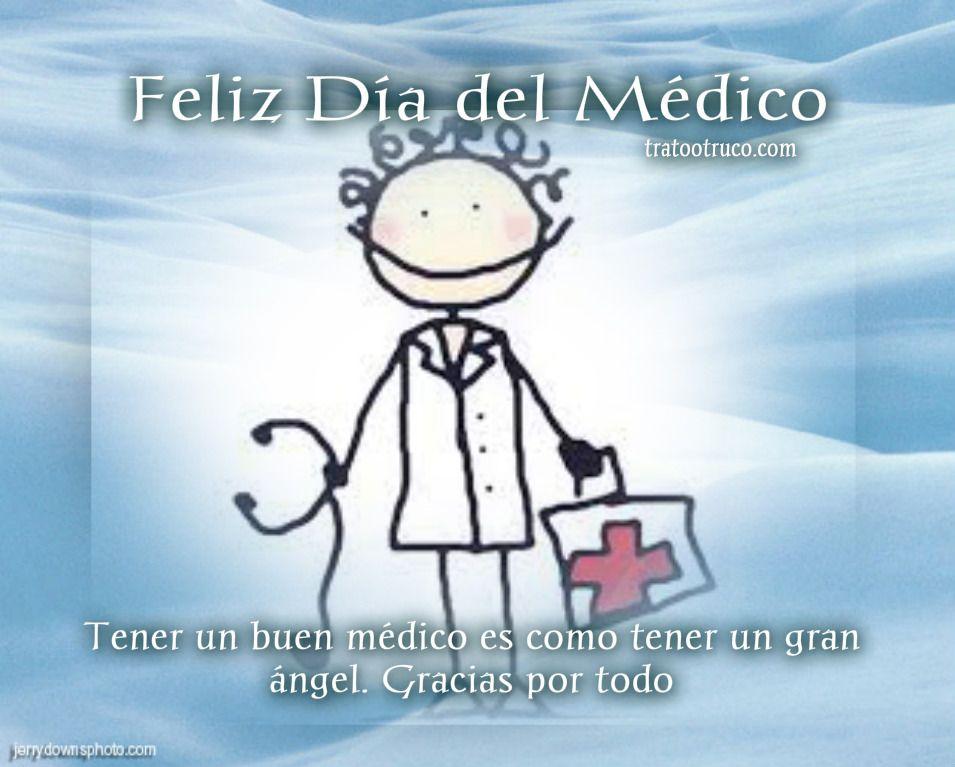 Dia Del Medico Estetoscopio Feliz Día