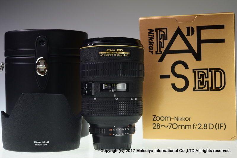 Nikon Af S Nikkor Ed 28 70mm F 2 8d Excellent Nikon Nikon Ebay Online