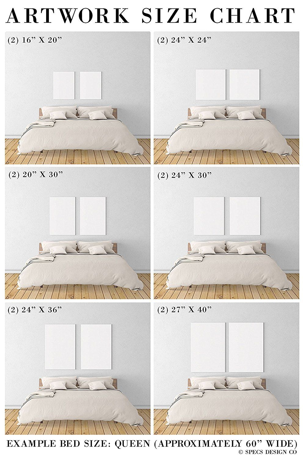 Image result for bedrooms large i love you art above bed