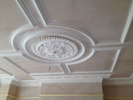 Victorian-coving-with-dado-rail-Victorian-ceiling-rose ...