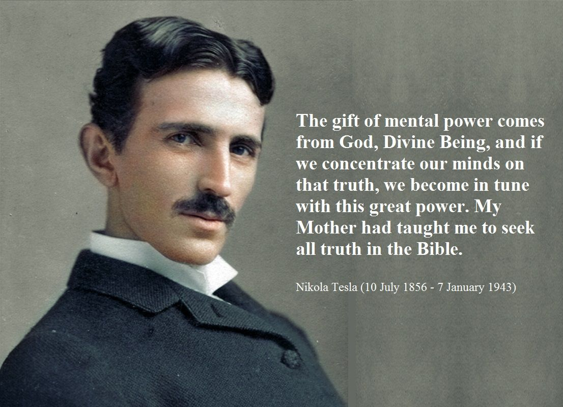 Nikola Tesla About God Tesla Quotes Nikola Tesla Quotes Nikola Tesla