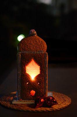 lamp cake
